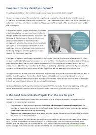 funeral planning guide funeral guide prepaid funeral plan brochure v4