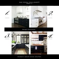 modern ranch style one room challenge week 3 modern ranch style kitchen