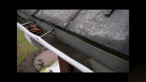 drip edge installation to prevent water dripping behind a rain