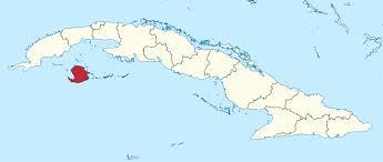 Map Cuba Isle Of Pines Cuba Map