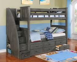 Bunk Bed With Storage Gray Bunk Beds With Storage Bunk Beds With Storage