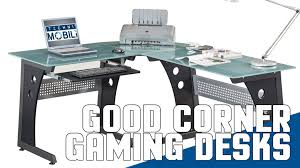 top pc gaming desks best pc gaming corner office desks 2015 gaming review guide