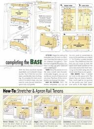 Hall Table Plans 2057 Hall Table Plans Furniture Plans Woodworking Pinterest