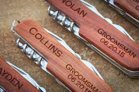 Groomsmen Gifts Knife 50 Groomsmen Gifts Your Buddies Really Want Linentablecloth
