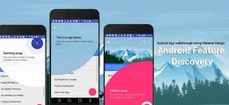 tutorial android beacon library add app target for new user using taptargetview android library