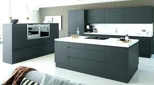 meuble de cuisine gris anthracite meuble cuisine blanc couleur peinture cuisine meuble cuisine gris