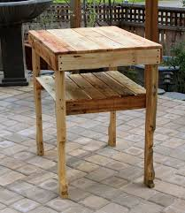 Patio Furniture Made With Pallets - tables serving table pallet wood and diy pallet projects