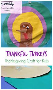 preschool thankful turkey craft thanksgiving turkey craft and craft
