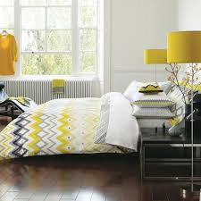 brilliant anya 6 piece fl print duvet cover set grayyellow a for yellow and grey duvet cover