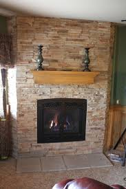 awesome refacing a fireplace 12 reface brick fireplace with stone
