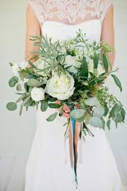 wedding flowers greenery wedding bouquet white and greenery bouquet 2164822 weddbook