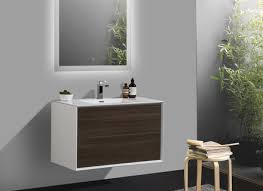 Bathroom Vanity Sink Cabinets by Aquila White Gloss 600mm Wall Hung Bathroom Cabinet Slimline