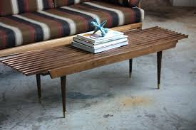 diy mid century modern coffee table bench coffee table appealing mid century modern expanding slat bench