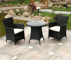 Wicker Bistro Table And Chairs Patio Ideas Bistro Table Set Outdoor Fairmont Piece Steel Patio