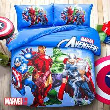 Avengers Duvet Cover Single Pokemon Avengers Cars Spiderman Monster High Quilt Cover Set