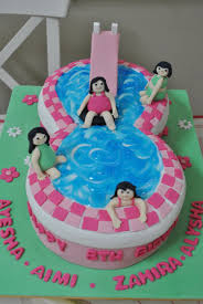 cakes with love swimming pool cake lets party pinterest