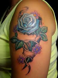 rose tattoo with name 2 best tattoos ever