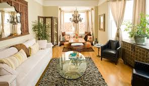 Eclectic Decorating Ideas For Living Rooms by Decorations Eclectic Bohemian Interior Decor With Oval Glass