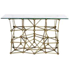 54 x 54 glass table top worlds away console table with 22 x 54 glass top molecule cong54