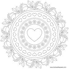 14 images of roses print mandalas coloring page free printable