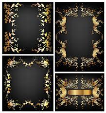 floral frames wallpaper design stock photo image 12424700