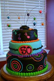 neon 50th birthday cake lolo u0027s cakes u0026 sweets