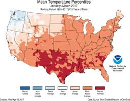National Rain Map Assessing The U S Climate In March 2017 National Centers For