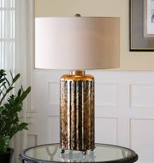 lighting uttermost boulangerie mercury glass lamp with wonderful