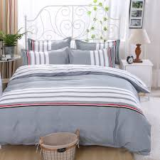 grey bed cover promotion shop for promotional grey bed cover on