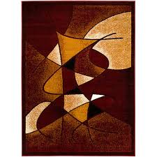 found it at wayfair abstract burgundy area rug rugs pinterest