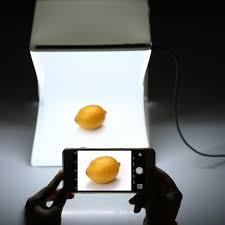 andoer folding portable mini photography lightbox studio for