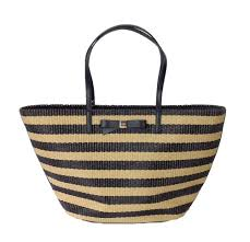 kate spade new york u0027wicklow court u0027 anabette striped large straw