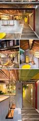 bar interior design a tropical inspired bar in china uses reclaimed materials and