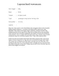 contoh laporan wawancara pedagang bakso 1526201160 v 1