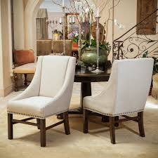 amazing fabric dining chair with claudia fabric dining chairs set