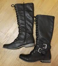 s lace up combat boots size 11 russe combat boots for ebay