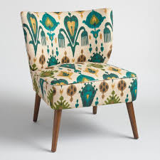 Upholstered Accent Chair Aberdeen Delani Upholstered Accent Chair World Market