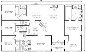 5 bedroom 4 bathroom house plans wide floor plans 4 bedroom 3 bath redman homes wides
