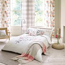 buy sanderson magnolia u0026 blossom coral duvet cover amara