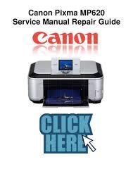canon printer manuals canon pixma mp620 service manual and repair guide