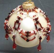 467 best 1 beaded xmas ornament covers images on pinterest