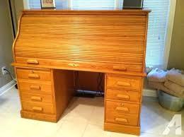 used solid oak desk for sale solid oak roll top desk extra large solid oak roll top desk used