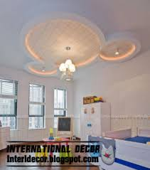 Interior Design Gypsum Ceiling Interior Design 2014 5 Modern Kids Room Gypsum Ceilings Designs