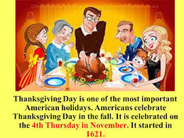 thanksgiving day in america thanksgiving day is one of the most