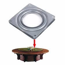 online buy wholesale lazy susan bearing from china lazy susan topincn square rotating swivel plate lazy susan turntable bearing rotating swivel plate for kitchen cabinets tabe