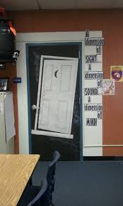 twilight zone themed door 3rd grade pinterest