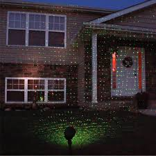 Laser Projector Christmas Lights by Floureon 130mw Laser Projector Outdoor Red And Green Ip65