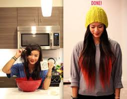 kool aid dip dye ombre this method will fade slowly and eventually