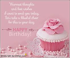 warmest thoughts birthday wishes cards
