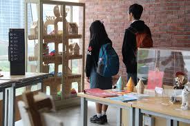 Binus Student Desk by Binus Northumbria School Of Design And Binus International Held